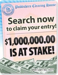 PCH Search & Win: Win $7,000.00 A Week For Life