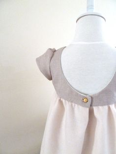 Chic Scoop Back Dress on Etsy