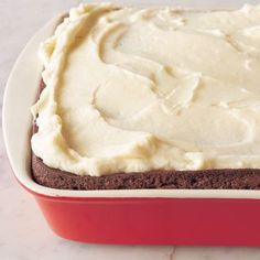 Spicy Gingerbread with Sherry-Cream Cheese Frosting | Williams-Sonoma chees frost, frost recip, cakes, christmas, sherrycream chees, baking, frosting recipes, spici gingerbread, cream cheese frosting