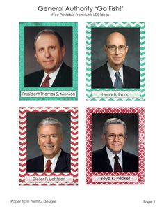 Little LDS Ideas: General Conference 'Go Fish!'