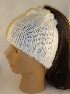 Knitting Pattern Ponytail Hat : Products I Love on Pinterest White Gold Rings, Money Saving Challen?