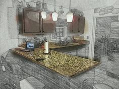 New improved coming soon. My kitchen in NC..