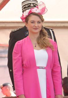 Hereditary Grand Duchess Stéphanie, June 23, 2014   Royal Hats