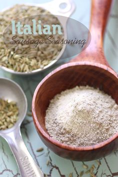 Italian Sausage Seasoning Recipe | Lexie's Kitchen | Gluten-Free Dairy-Free Egg-Free -