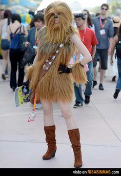 La novia de Chewbacca.