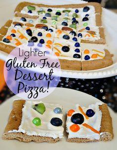 gluten free dessert pizza