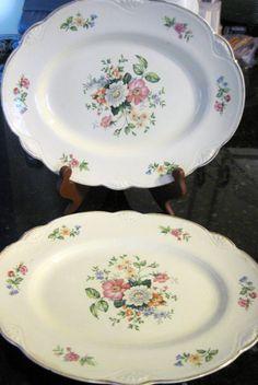 Vintage Homer Laughlin Platters