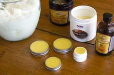 Homemade lipbalm. I want to make this right now!