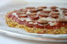 Delighted Momma: Spaghetti Squash Pizza Crust
