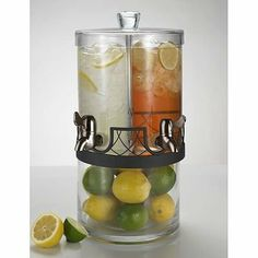For your #wedding beverage station OR for many barbecue parties thereafter! #Kohls | Artland Twice as Nice Dual Beverage Server