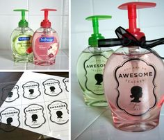 Great gift idea with hand soap or hand sanitizer.