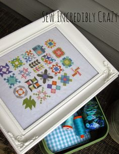 Quilty Stitches - Cross-stitch - Sew Incredibly Crazy