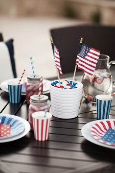July 4th Tablescape The TomKat Studio