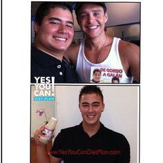 Ruben David - 17 years old Lost 30 pounds with the Yes You Can Diet Plan  www.YesYouCanDietPlan.com diet plans, la dieta, dieta de
