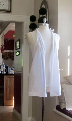 DIY tshirt fashion vest