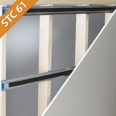 isoTRAX Soundproofing System: - The isoTRAX Soundproofing System works by combining several different soundproofing strategies into one easy to use package.