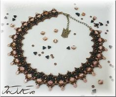 Nouveau collier chez Vinjuléve avec les Khéops@de Puca...