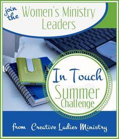 Women's Ministry Leaders Summer Challenge summer challeng