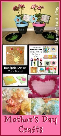 Mothers Day Crafts for Kids - Parent Teach Play