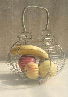 french wire egg basket
