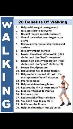 #walking benefits