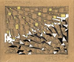 Reza Nik - revelation through abstraction 2 [unedited], 2012, pen on cardboard http://rezanik.wordpress.com