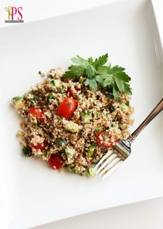 Summer Tabbouleh Salad #Recipe #Healthy #food #recipe #salad #healthy
