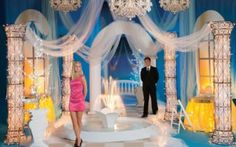 10 Ways to Use Fabric for Prom Decorations