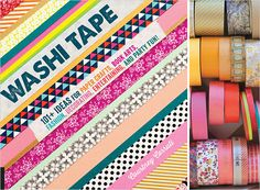 Washi Tape: 101+ Ideas