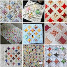 Cathedral Window Quilt Block Tutorial - includes links to a bunch of other CW quilt tutorials as well