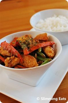 Sweet and Sour Chicken   Slimming Eats - Slimming World Recipes
