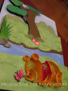 Winnie the Pooh Quilling