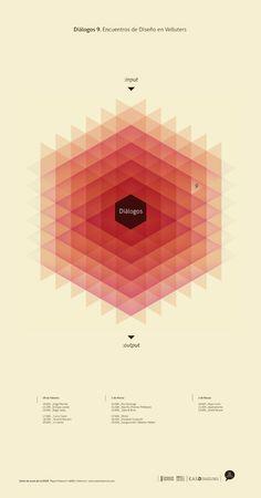 Diálogos (Arte de Diseño de Valencia) vía @Wences Sanz #geometric