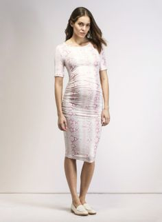 Comfort and style in this Isabella Oliver T-Shirt maternity dress.