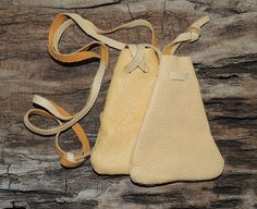Medicine Pouch, Sacred Satchel, Healings Stones, Buckskin Leather Tan Drawstring Bag, Keepsake Pouch Small Buttery Soft