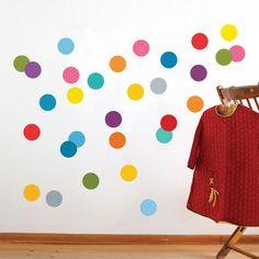 confetti walls.