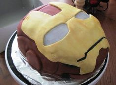 The Jag'd Cakery: Iron Man Mask
