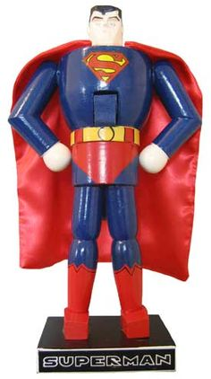 Superman Collectible Nutcrackers.