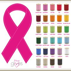 Support the cause closest to your heart with a Gives Care Ribbon, available in every thread color offered in the Fall Catalog. Which color means the most to you?