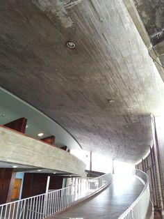 Rampas del Aula Magna de la UCV / Caracas, Venezuela.