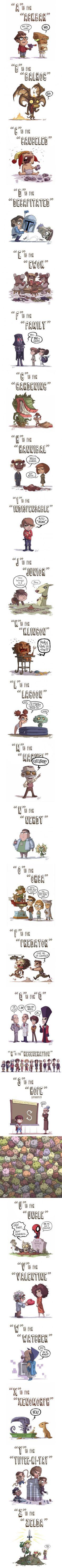 Geeky ABCs. Awww....'C' :(