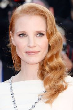 Celebrity inspired wedding makeup: Jessica Chastain