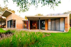 Cheap sustainable house built with rammed earth http://bit.ly/1nK0NP0