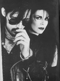 Andrew Eldritch and Patricia Morrison, The Sisters of Mercy