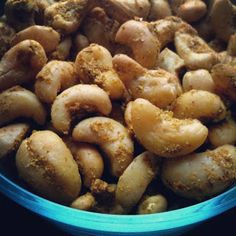 Curried Cashews from our VegCookbook, Crazy Sexy Kitchen. #vegan #glutenfree #recipes #kriscarr #CrazySexyKitchen