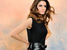 Check out Livia Firth's first complete eco-fashion collection, designed by the green glamour-puss herself!