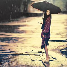 sometimes you just wanna stand in the rain.