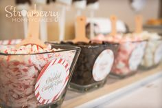 Hot Cocoa Bar Toppings #hotcocoa #toppings