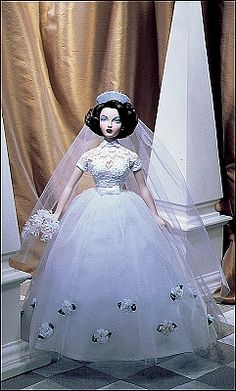 Gene Marshall, Monaco Bride. This, along with Red Venus and Premiere, were the first Gene dolls introduced in 1996.