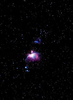 The Orion Nebula complex is undoubtedly one of the most famous and beautiful areas of the entire night sky. It is easily visible to the unaided eye from a dark location as a patch of brightness surrounding Theta Orionis, the middle star in the sword of Orion the Hunter, the constellation which dominates the winter night sky. Located about 1,350 light years away, the nebula glows red predominantly from the light of hydrogen gas excited by energetic newly formed stars in the heart of the neb...